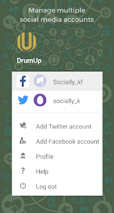 DrumUp - Social Media Manager- screenshot thumbnail