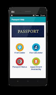 Passport Status Check - náhled