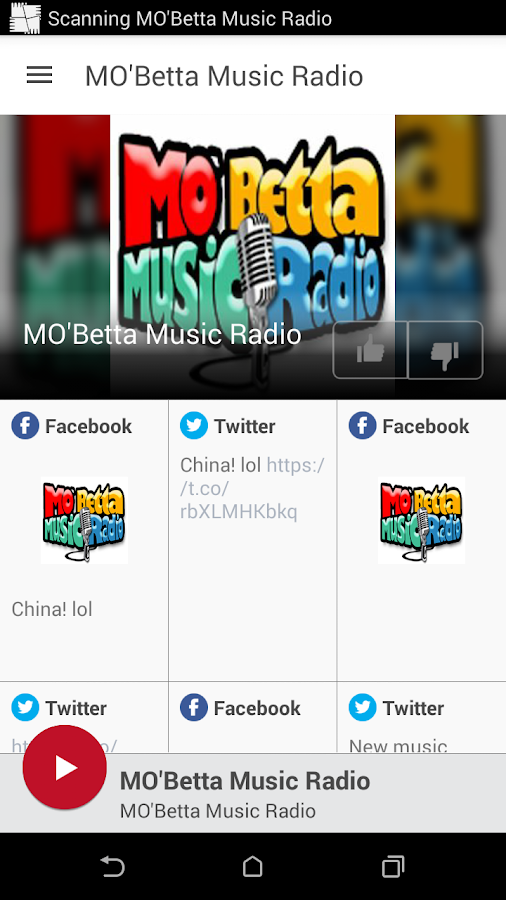 MO'Betta Music Radio- screenshot