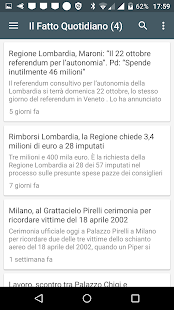 Lombardia notizie gratis - náhled