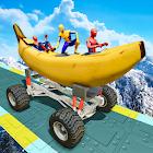 course banane: Jeux pour enfants fun icon