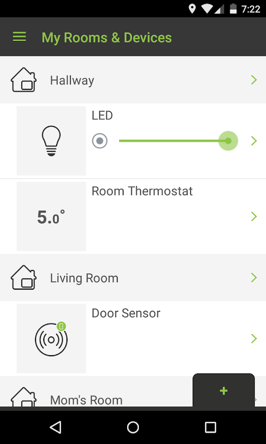 Greenwave Systems IoT- screenshot