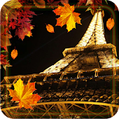 Autumn Paris live wallpaper