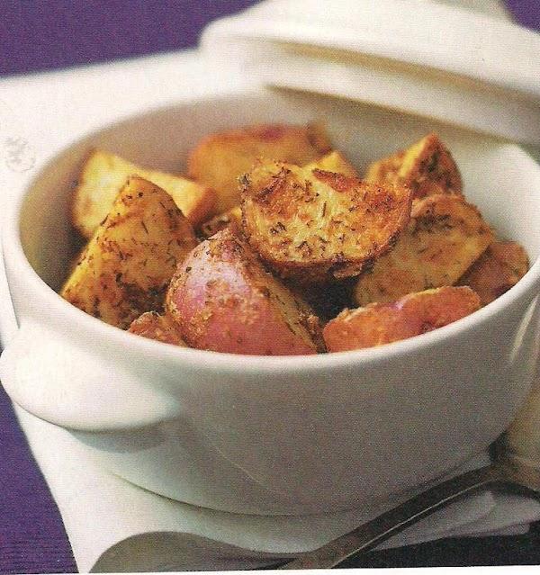 Deviled Roasted Potatoes Recipe