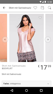 bonprix – Mode online shoppen – Miniaturansicht des Screenshots