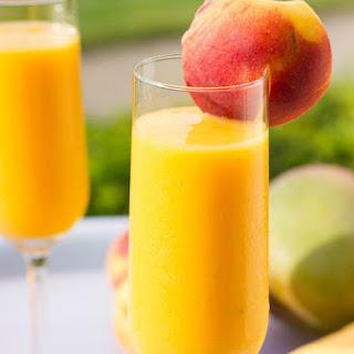 Mango Peach Bellini.