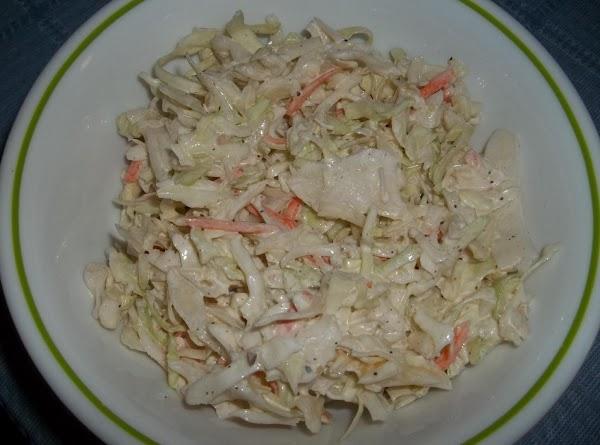 Cole Slaw (sallye) Recipe
