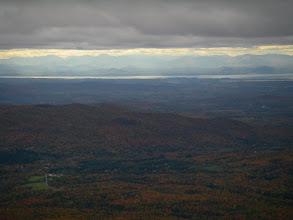 Photo: Lake Champlain and the Adirondacks.