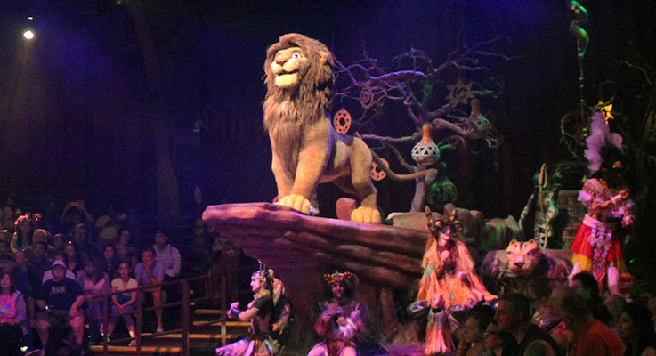 Animal Kingdom commemorates 25 years of The Lion King!