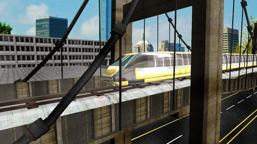 android Metro Train Subway Driving Screenshot 3