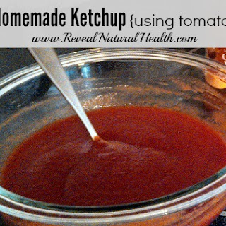 Easy Homemade Ketchup Using Tomato Paste.