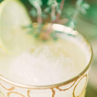 Boozy Peach Lemonade