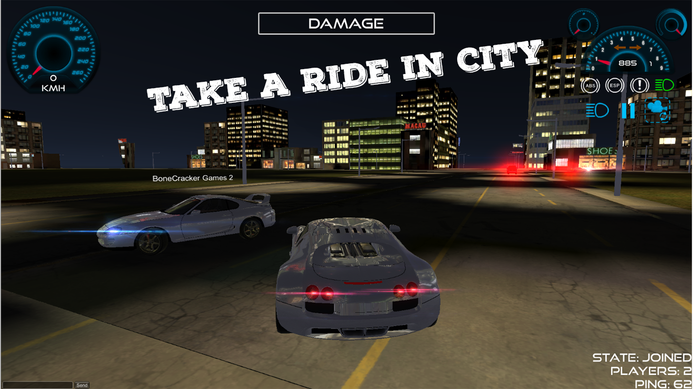 Super car city driving sim free games free online - City Car Driving Simulator Online Multiplayer Screenshot