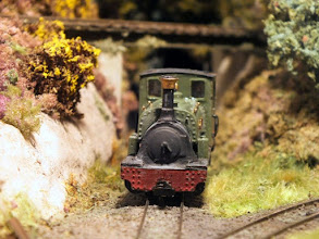 Photo: 021 A rugged workaday front view of Hunslet 0-6-2ST Arne