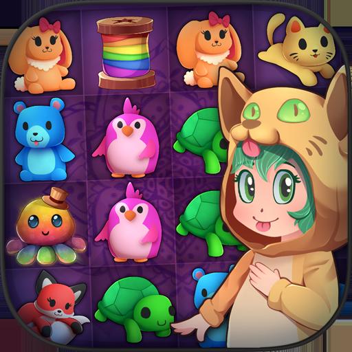 ふわふわの人形の友達:マッチ3 解謎 App LOGO-硬是要APP