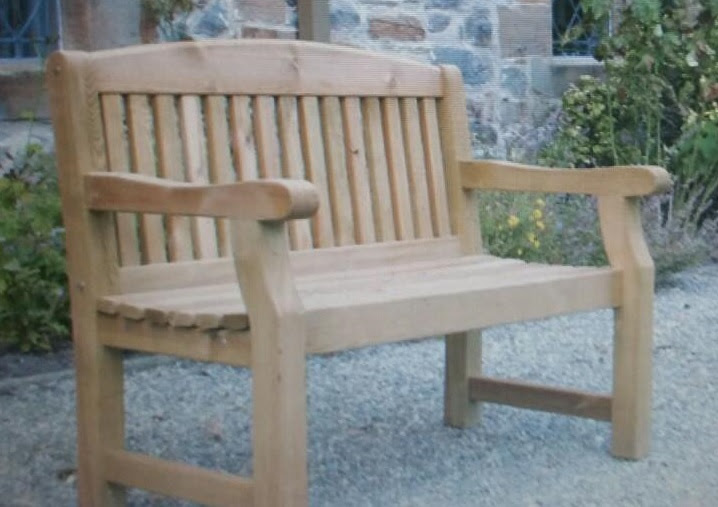 Have you seen this stolen childrens bench?