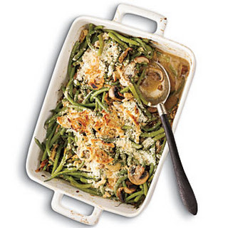 Green Bean Casserole with Madeira Mushrooms