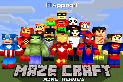 我的迷宫英雄 Maze Craft:Mine Herors