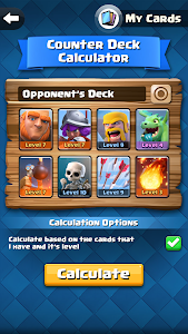 Counter Deck Calculator for CR screenshot 0