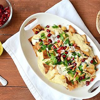 Vegan Fattet Hummus