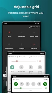 Power Shade: Notification Panel & Quick Settings Screenshot