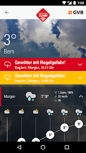 Wetter-Alarm® screenshot 1