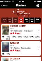 Screenshot of Cinéma Confluences