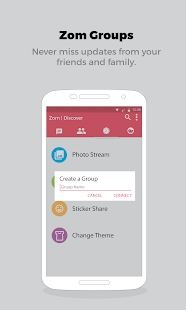 Zom Mobile Messenger- screenshot thumbnail