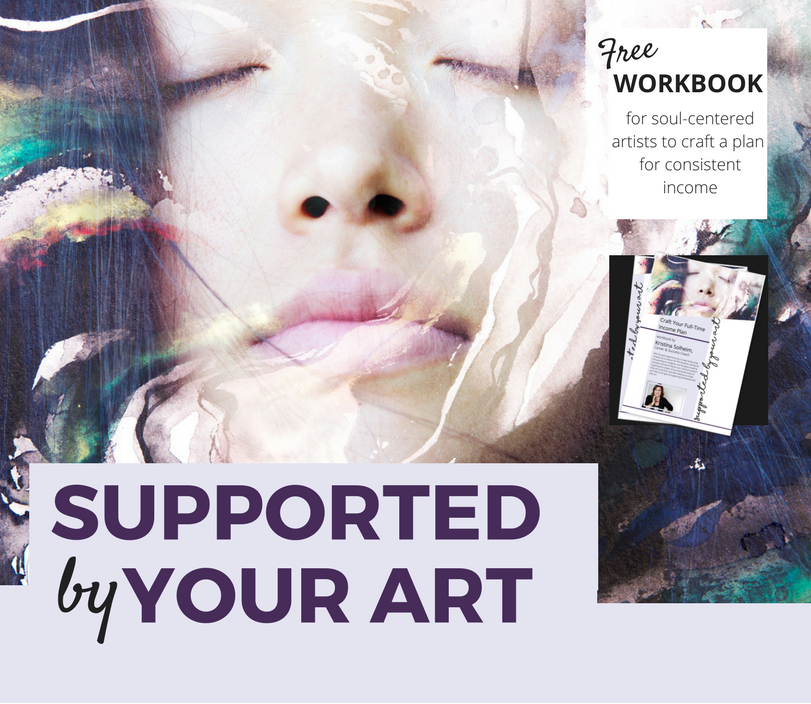 free workbook Supported by Your Art