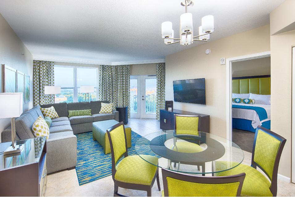 Nice interior designed resort room