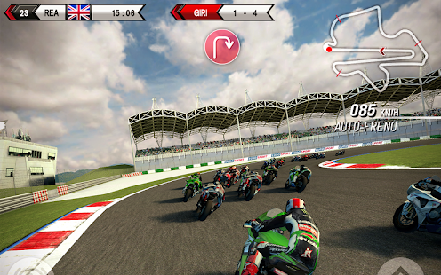 Screenshots of SBK15 Official Mobile Game for iPhone