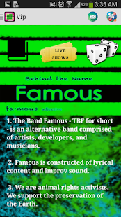 The Band Famous- screenshot thumbnail
