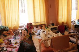 Photo: 21.05.2015 Днепропетровская областная детская больница, отделение травматологии