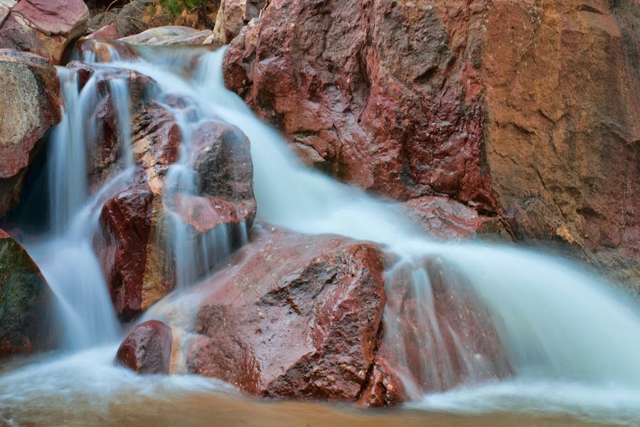 Pathways by Todd Yoder - Landscapes Waterscapes ( water, colorful, waterfall, rocks, river )