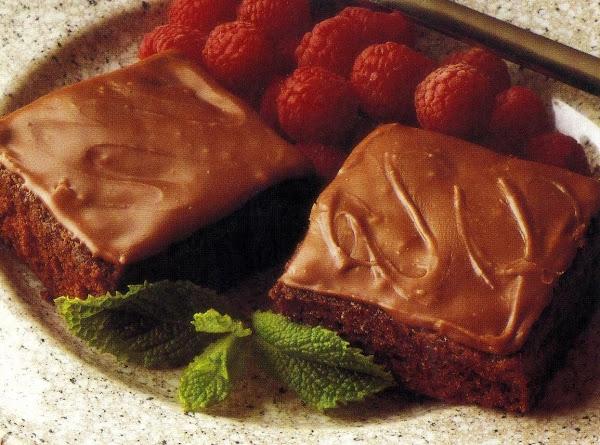 Texas Brownies (microwave Version) Recipe