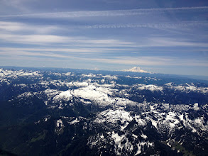 Photo: Departing for Smiley Creek 6-20-2012 with Mt. Rainier in Background