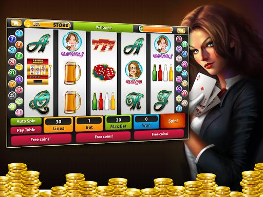 Brunettes Slot Machine Casino