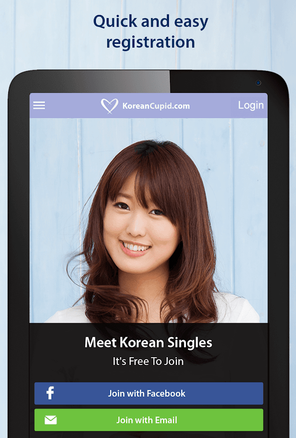 Korean dating chat app