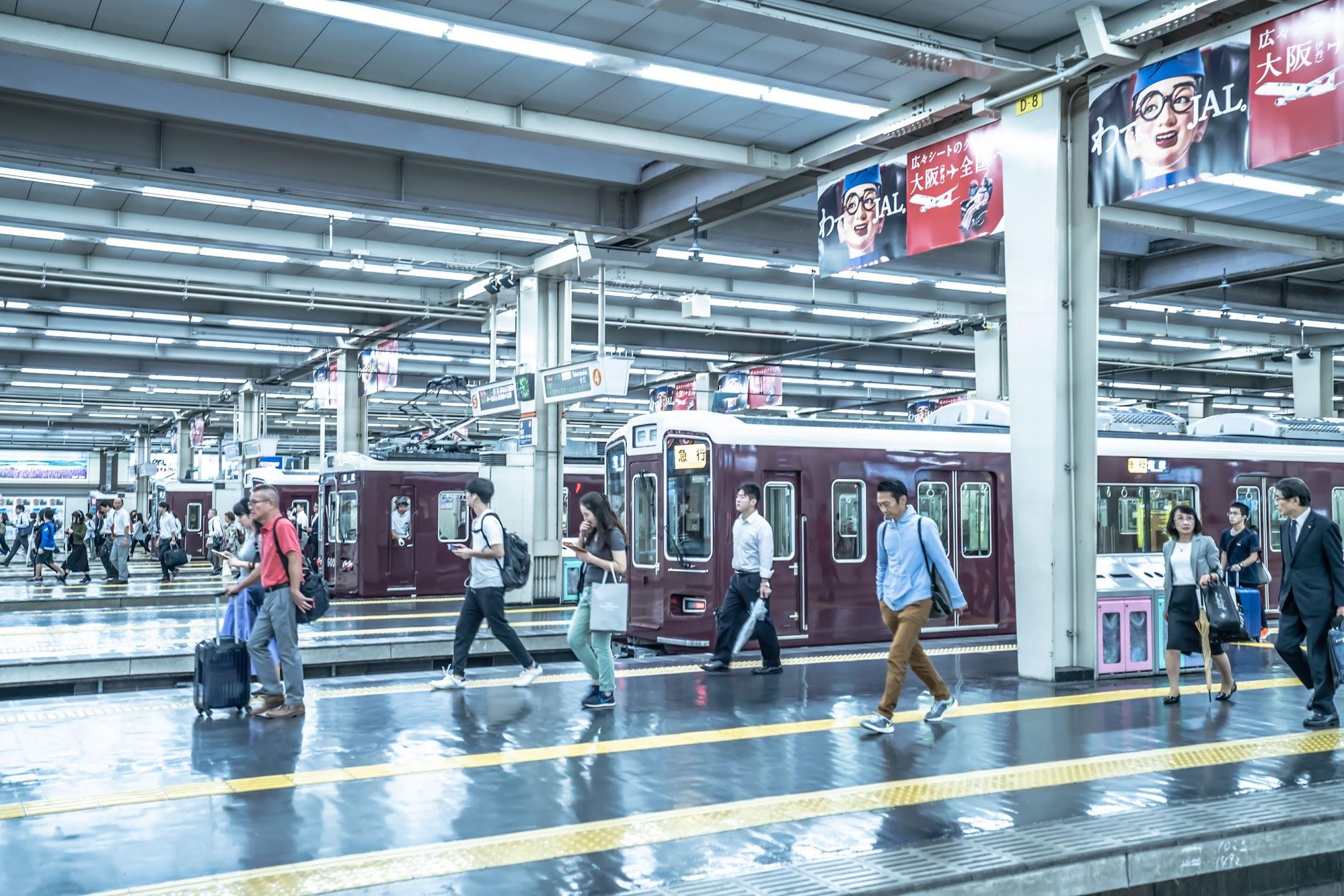 Hankyu Umeda station6