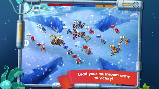 Mushroom Wars: Space! for VK- screenshot thumbnail