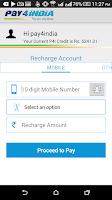 Screenshot of Mobile Recharge, BillPay & Bus