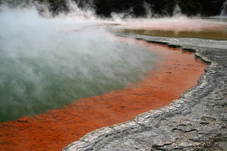Photo: Champagne Pool, Whai-O-Taupu