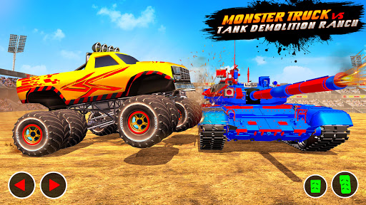 Monster Max Derby Crash Stunts 2021 screenshot 10