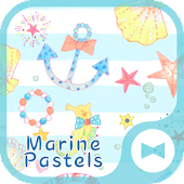 Cute Theme-Marine Pastels-