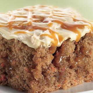 Better Than Easter-Carrot Cake Poke Cake.