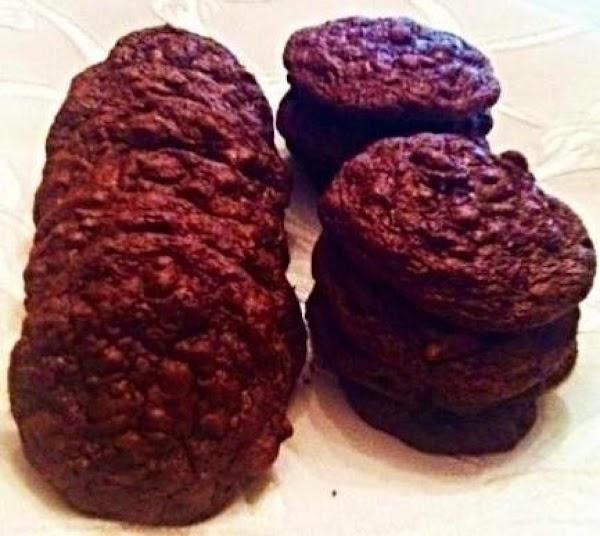 Double Chocolate Nut Cookies Recipe