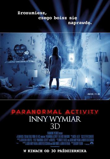 Polski plakat filmu 'Paranormal Activity: Inny Wymiar'