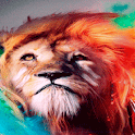 Red Hair Tiger LWP icon