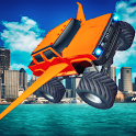 Flying Monster Truck Legend 3D icon