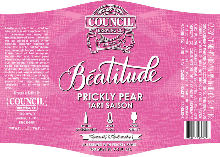 Logo of Council Beatitude Prickly Pear Tart Saison
